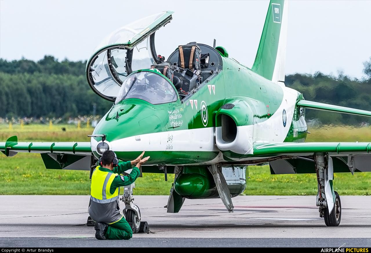 Saudi Arabia - Air Force: Saudi Hawks 8817 aircraft at Gdynia- Babie Doły (Oksywie)
