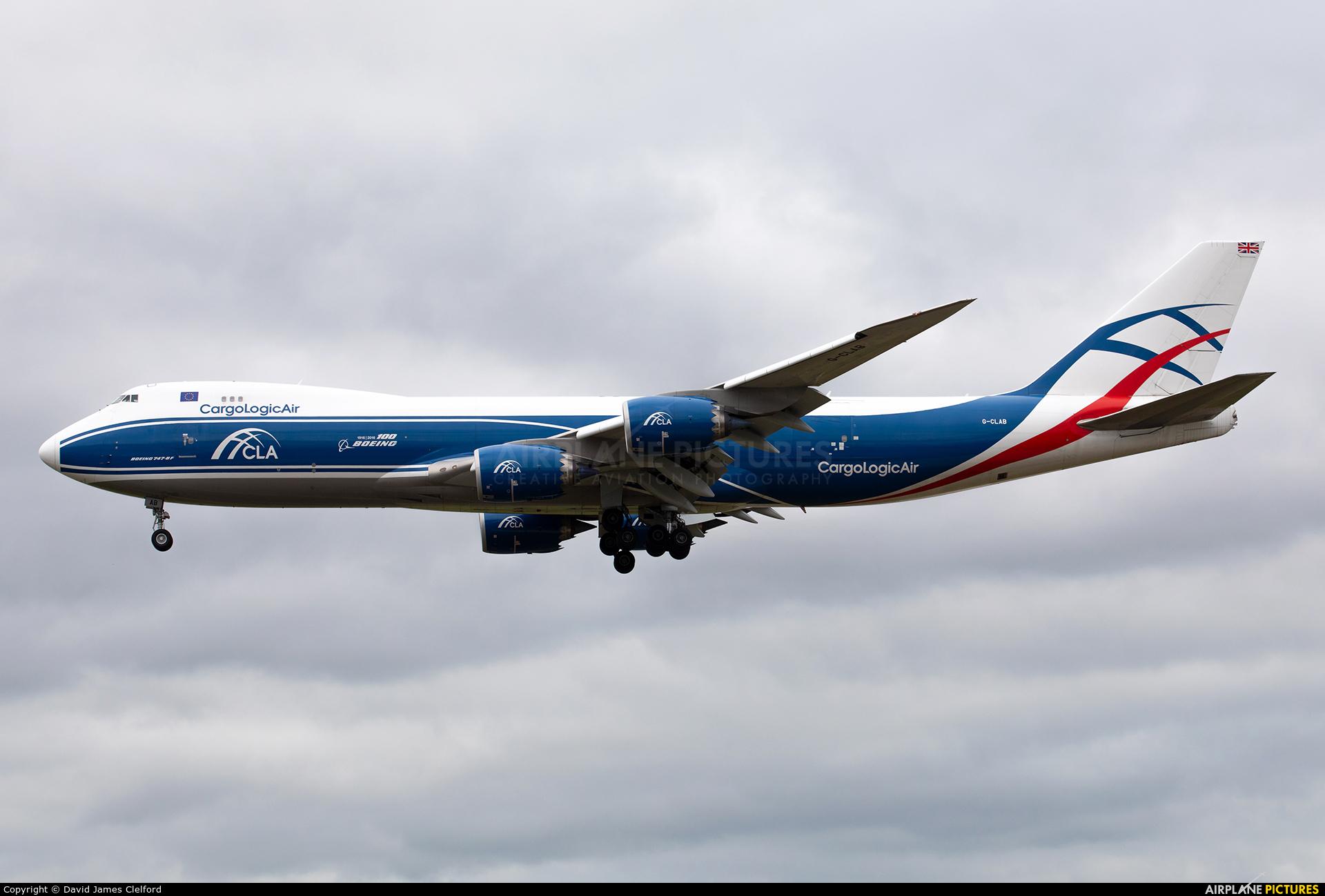 Cargologicair G-CLAB aircraft at Frankfurt