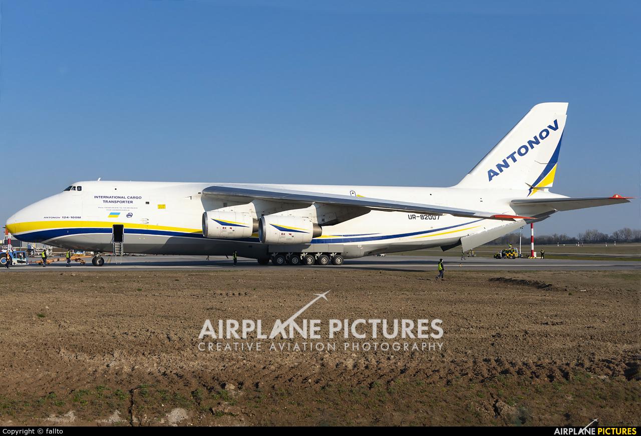 Antonov Airlines /  Design Bureau UR-82007 aircraft at Budapest Ferenc Liszt International Airport