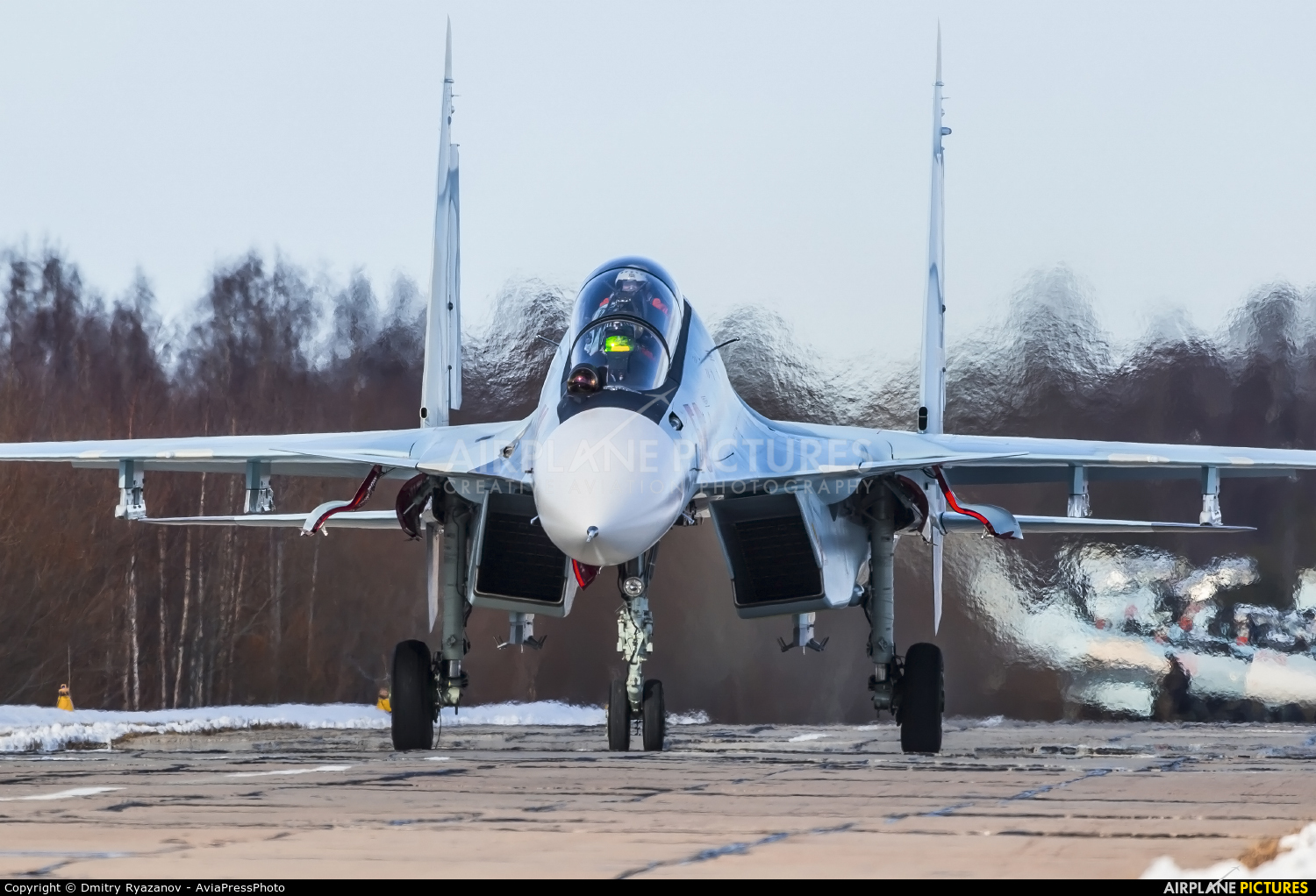 Russia - Air Force 58 aircraft at Undisclosed Location