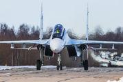 58 - Russia - Air Force Sukhoi Su-30SM aircraft