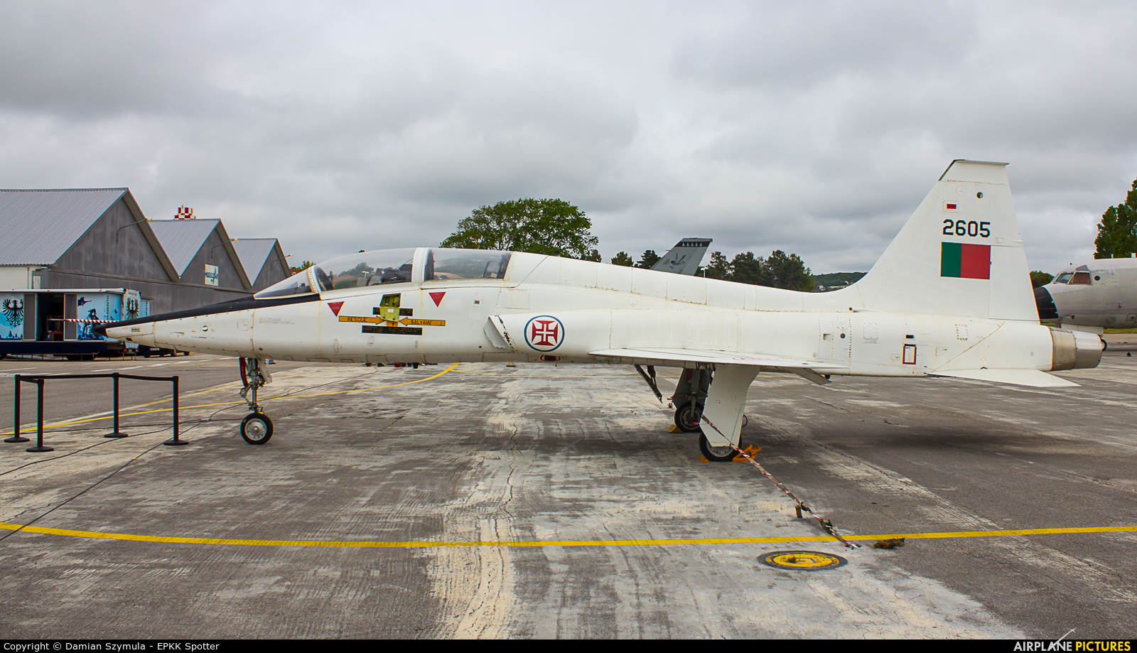 Portugal - Air Force 2605 aircraft at Sintra