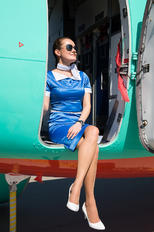 UR-RWA - Windrose Air - Aviation Glamour - Flight Attendant