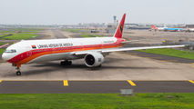 Rare visit of TAAG Angola Boeing 777 to Mumbai title=