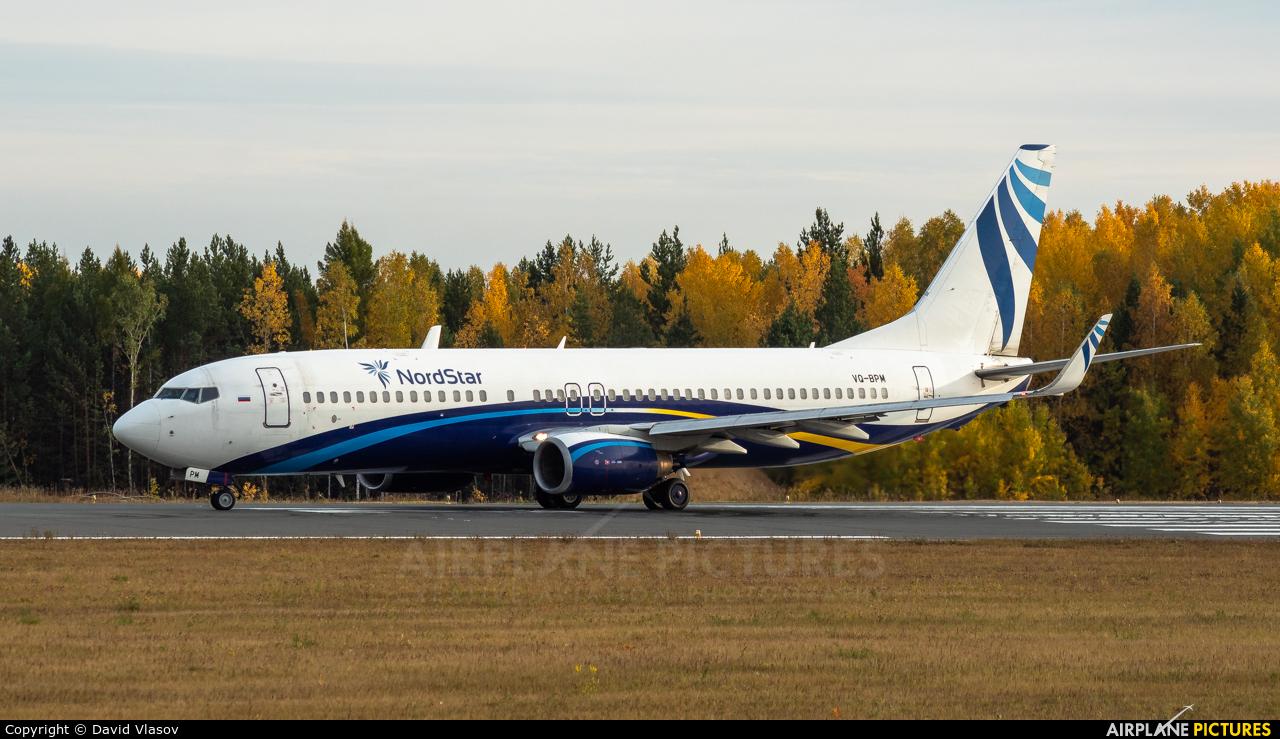 NordStar Airlines VQ-BPM aircraft at Krasnoyarsk - Yemelyanovo