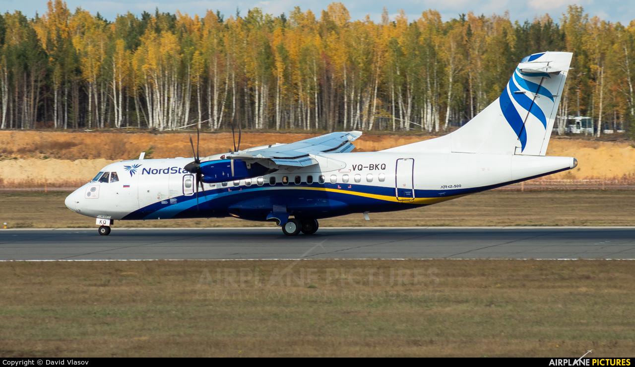 NordStar Airlines VQ-BKQ aircraft at Krasnoyarsk - Yemelyanovo