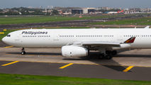 Rare visit of Philippines A330 to Mumbai title=