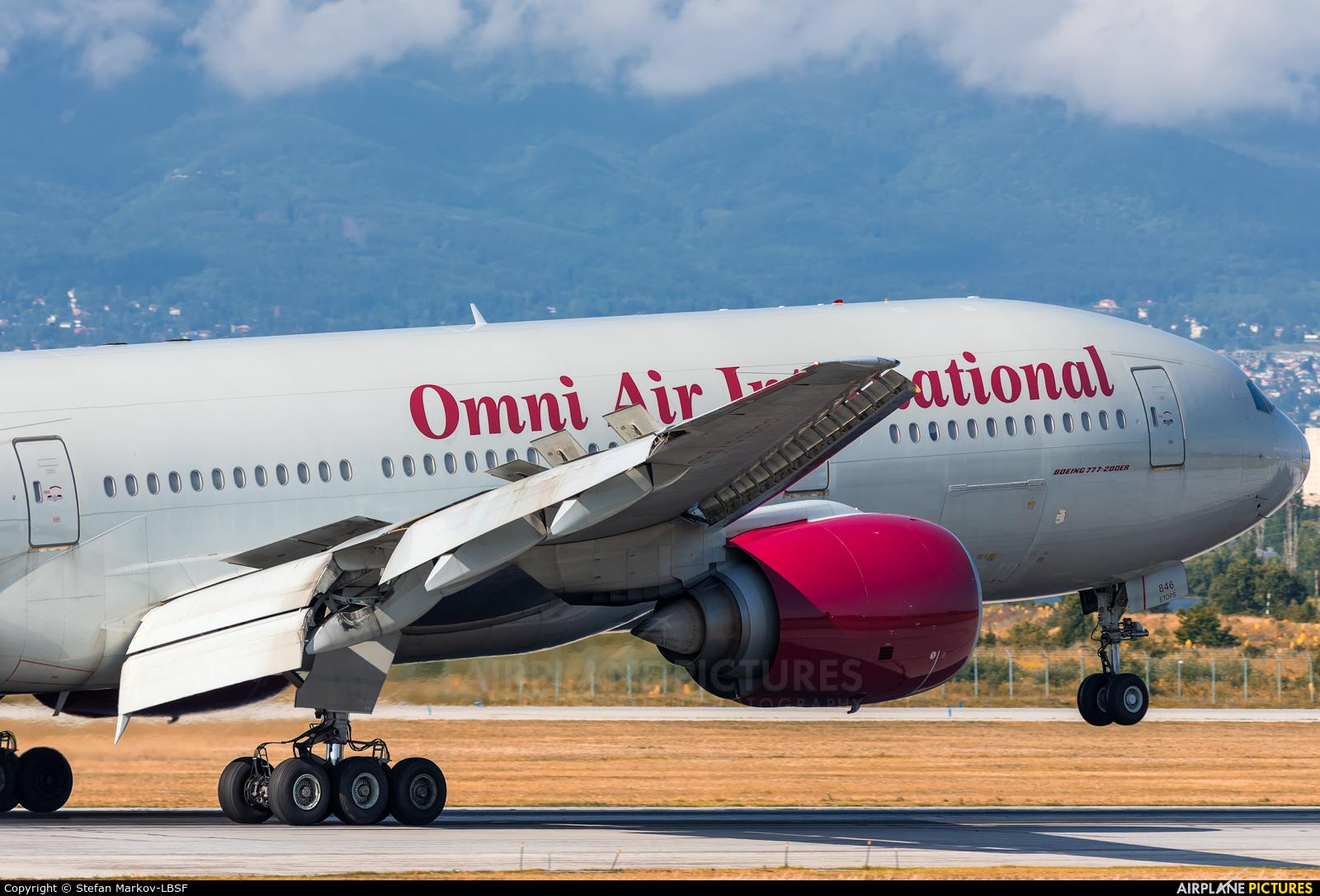 Omni Air International N846AX aircraft at Sofia