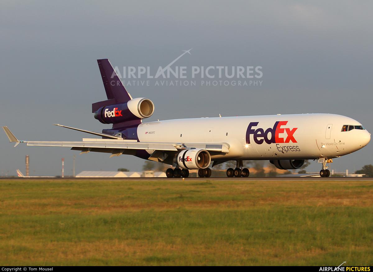 FedEx Federal Express N623FE aircraft at Paris - Charles de Gaulle