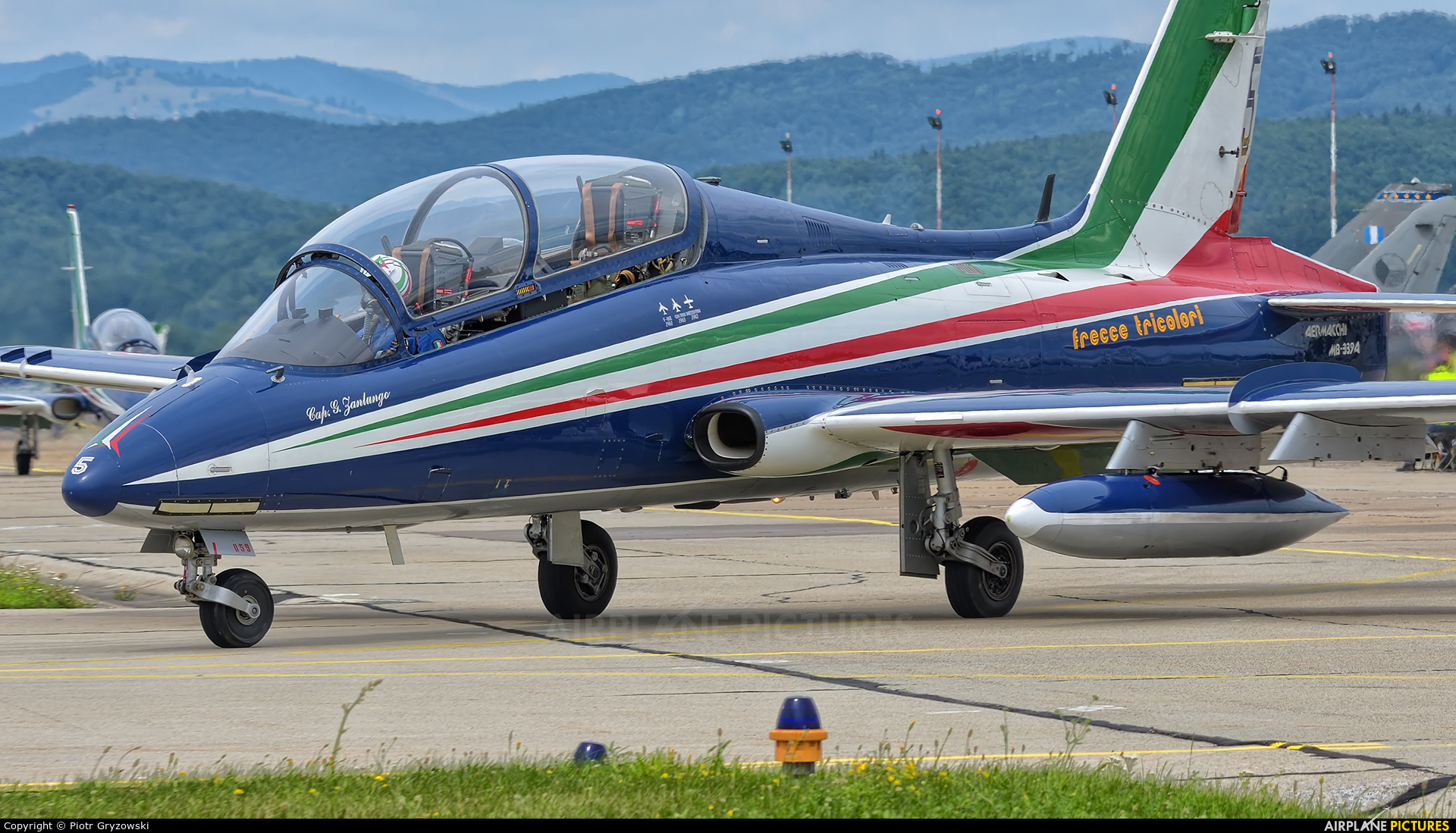 """Italy - Air Force """"Frecce Tricolori"""" MM55059 aircraft at Sliač"""