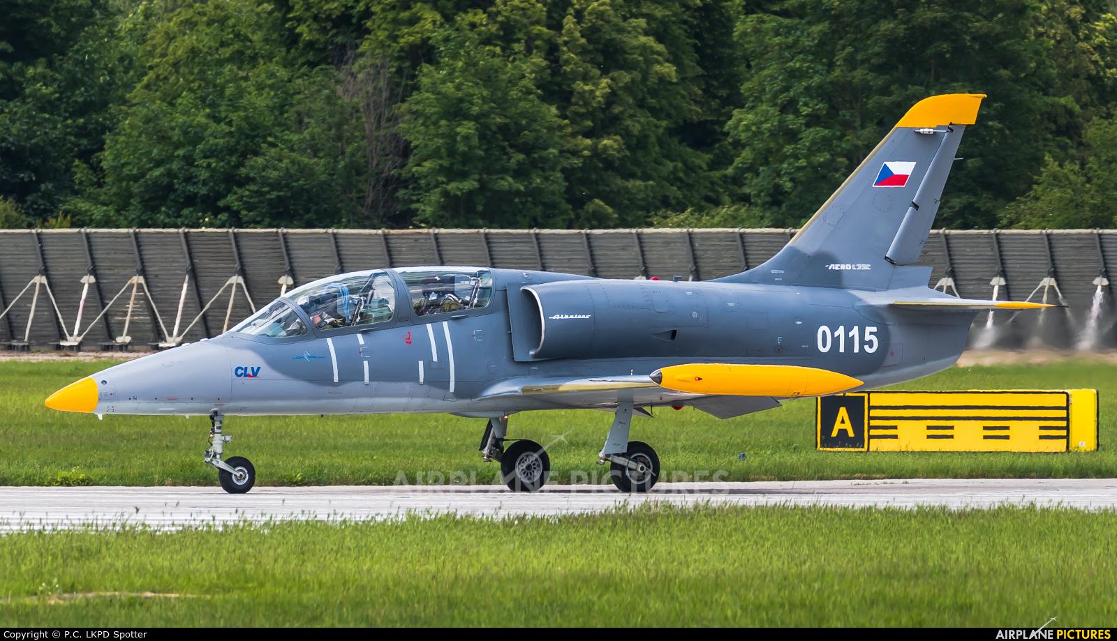 Czech - Air Force 0115 aircraft at Pardubice