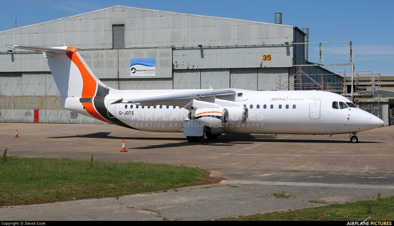 Jota Aviation G-JOTS aircraft at East Midlands