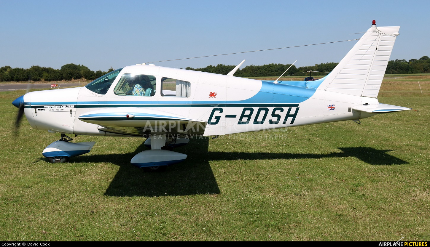 Private G-BDSH aircraft at Turweston