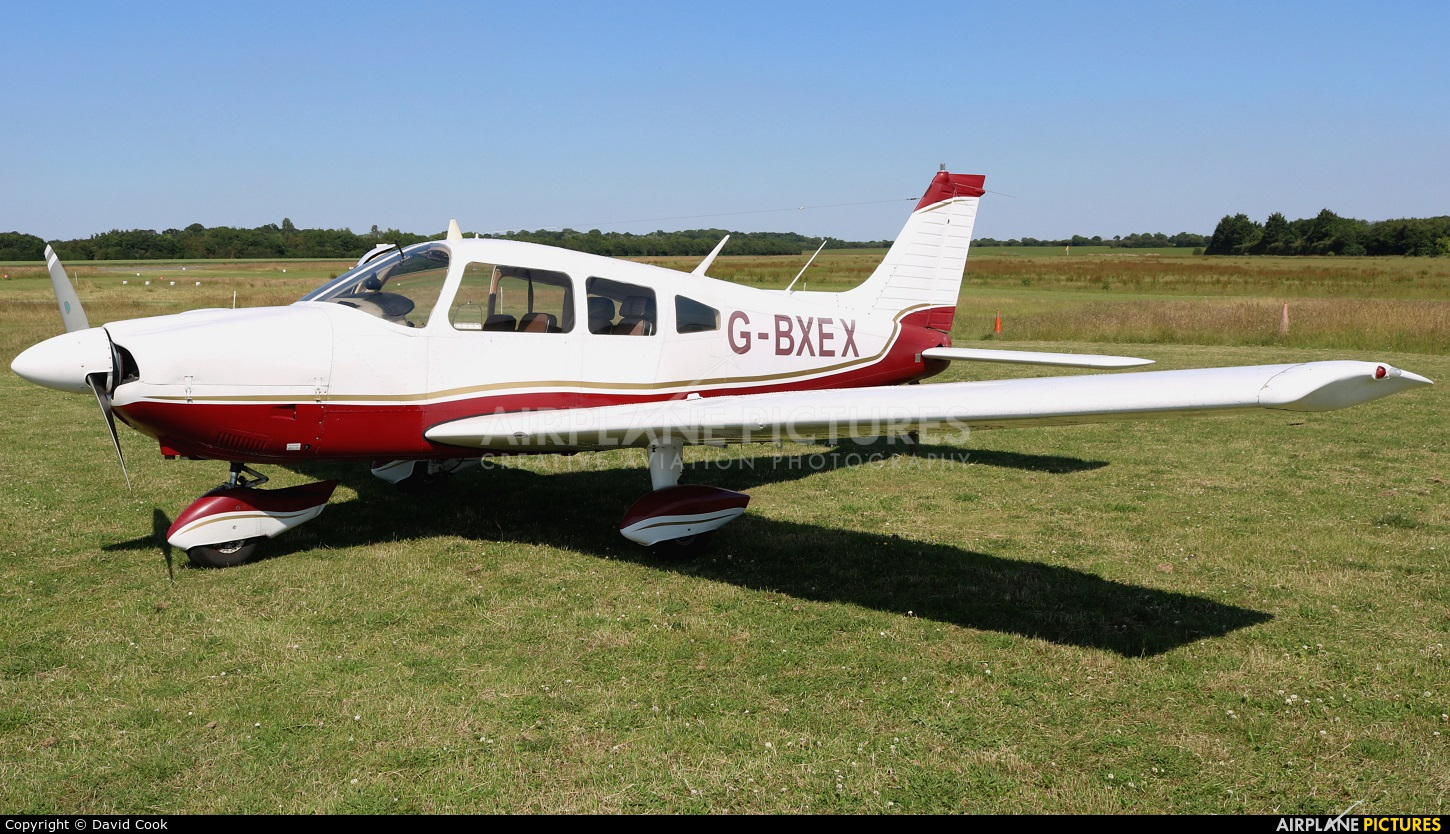 Private G-BXEX aircraft at Turweston