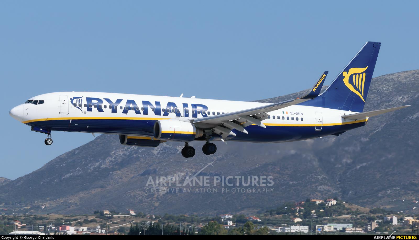 Ryanair EI-DHN aircraft at Athens - Eleftherios Venizelos
