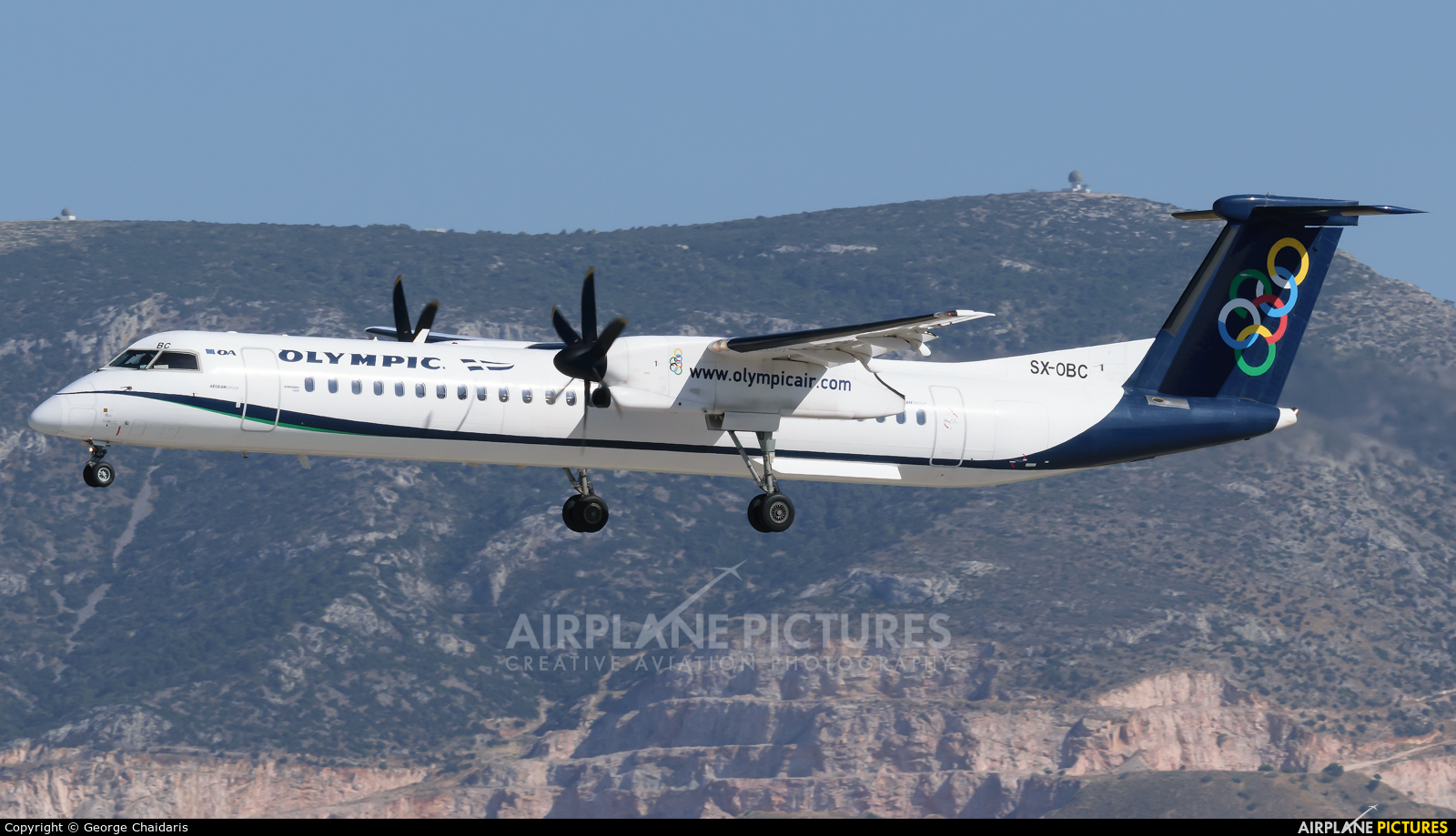 Olympic Airlines SX-OBC aircraft at Athens - Eleftherios Venizelos