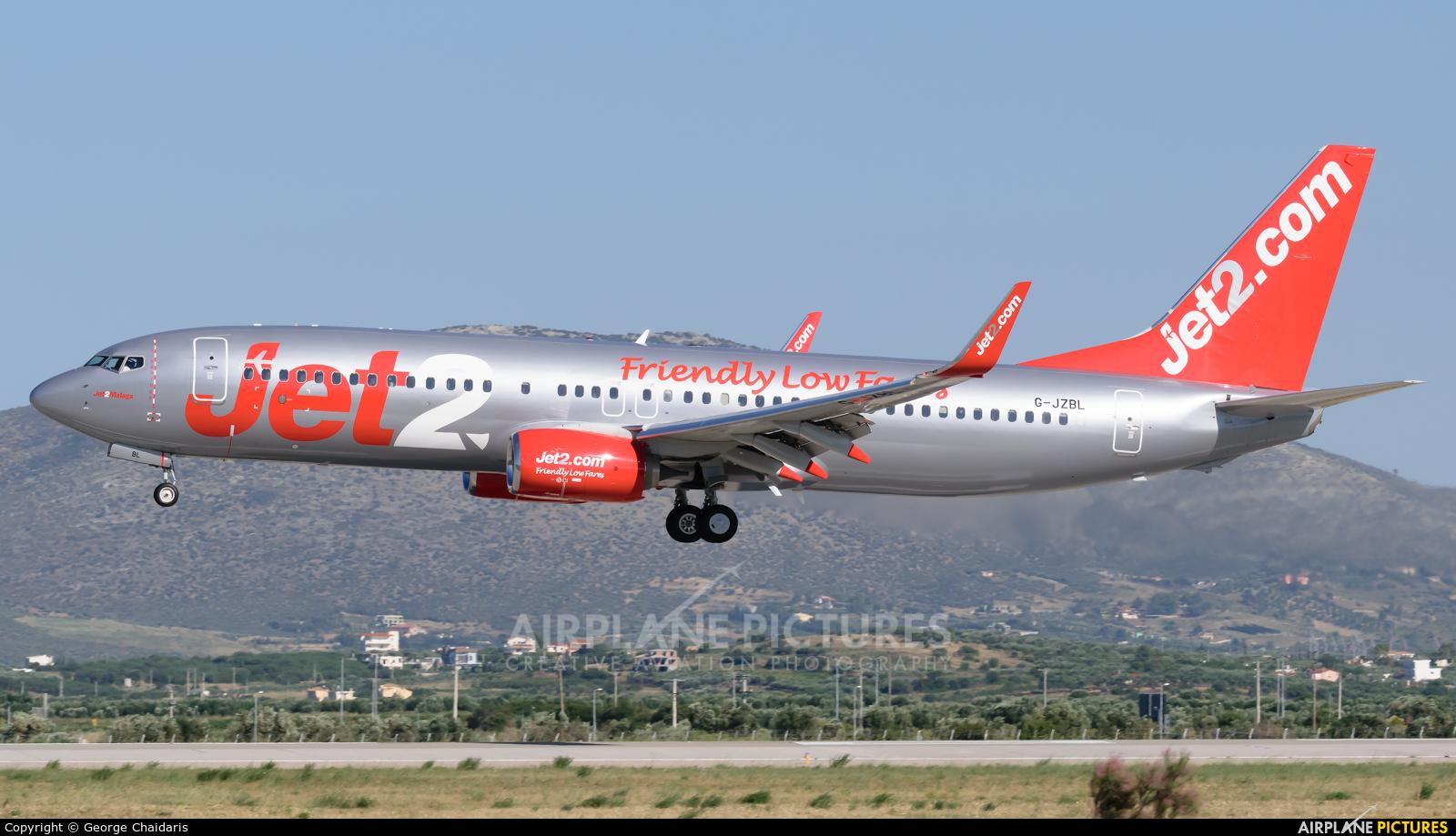 Jet2 G-JZBL aircraft at Athens - Eleftherios Venizelos