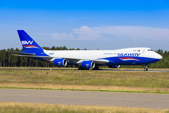 VQ-BWY - Silk Way Airlines Boeing 747-8F