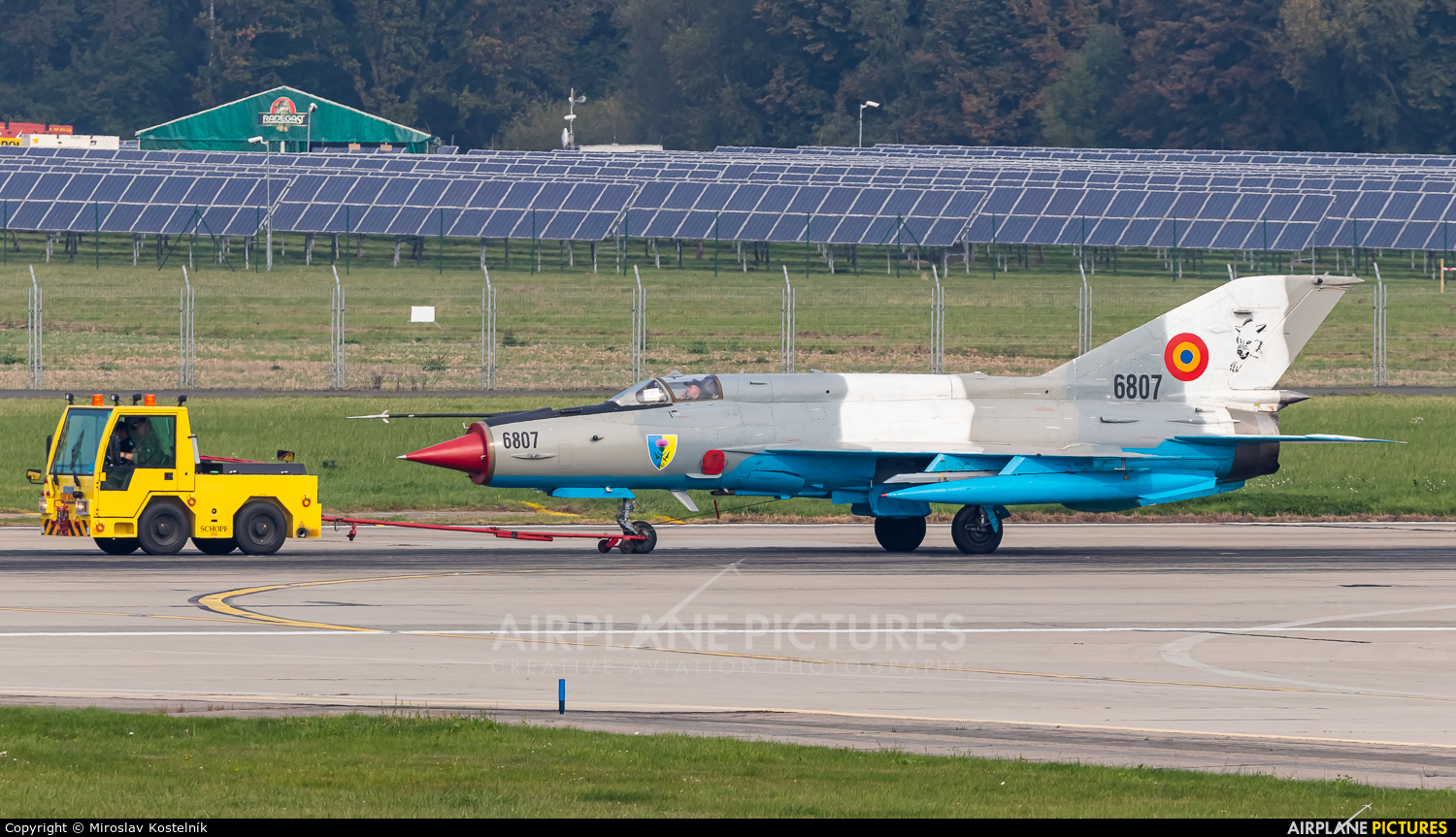 Romania - Air Force 6807 aircraft at Ostrava Mošnov