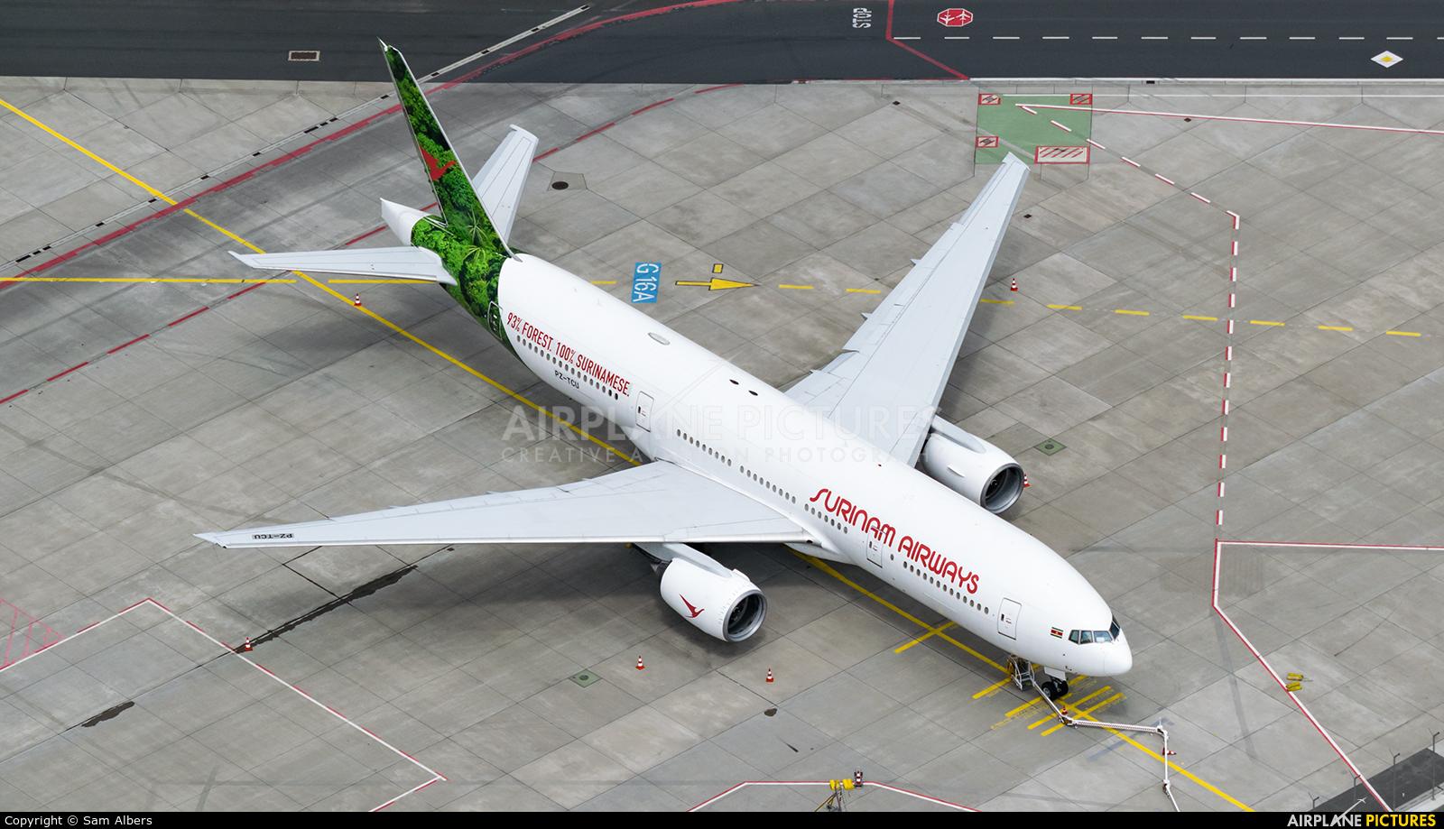 Surinam Airways PZ-TCU aircraft at Frankfurt