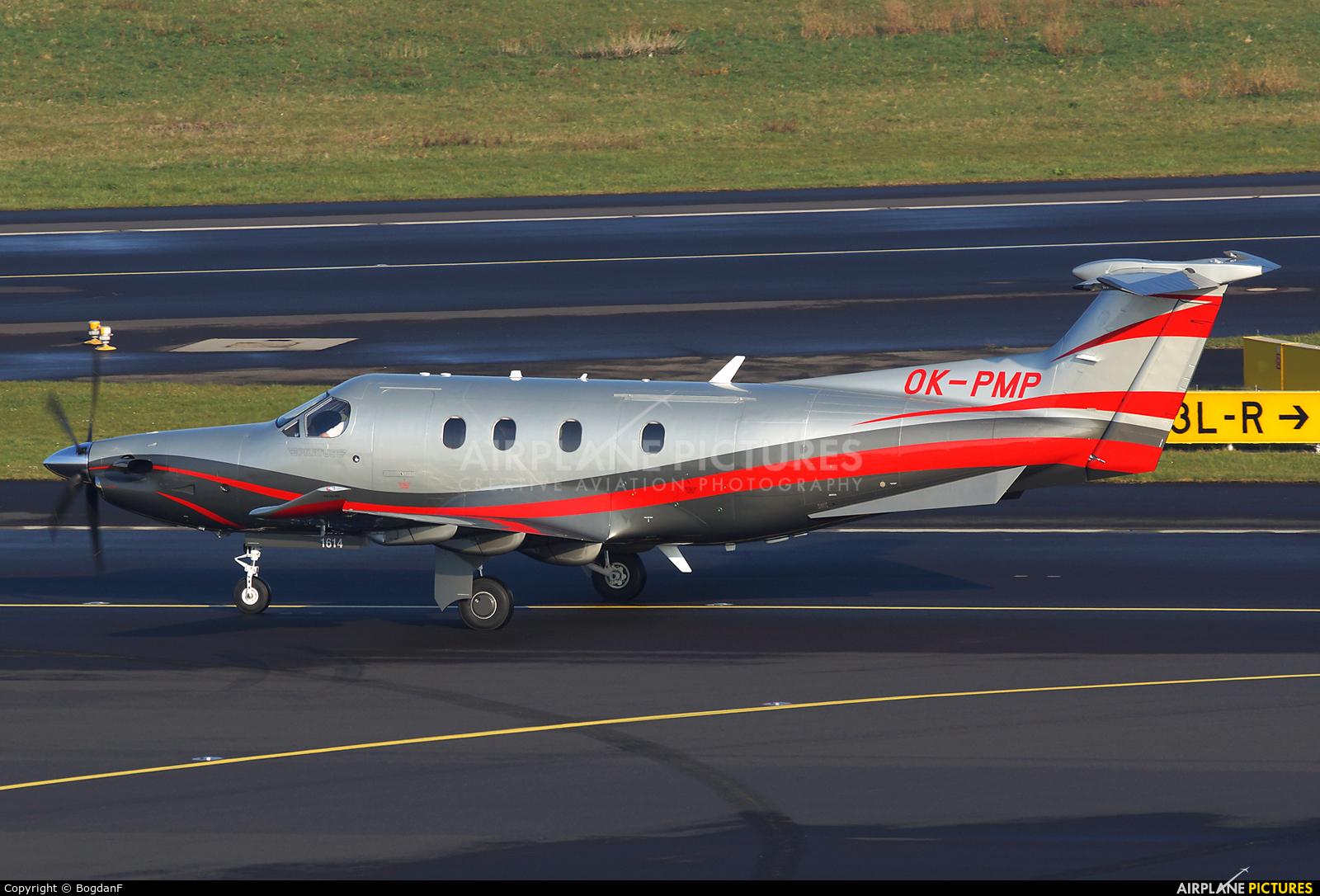 Private OK-PMP aircraft at Düsseldorf