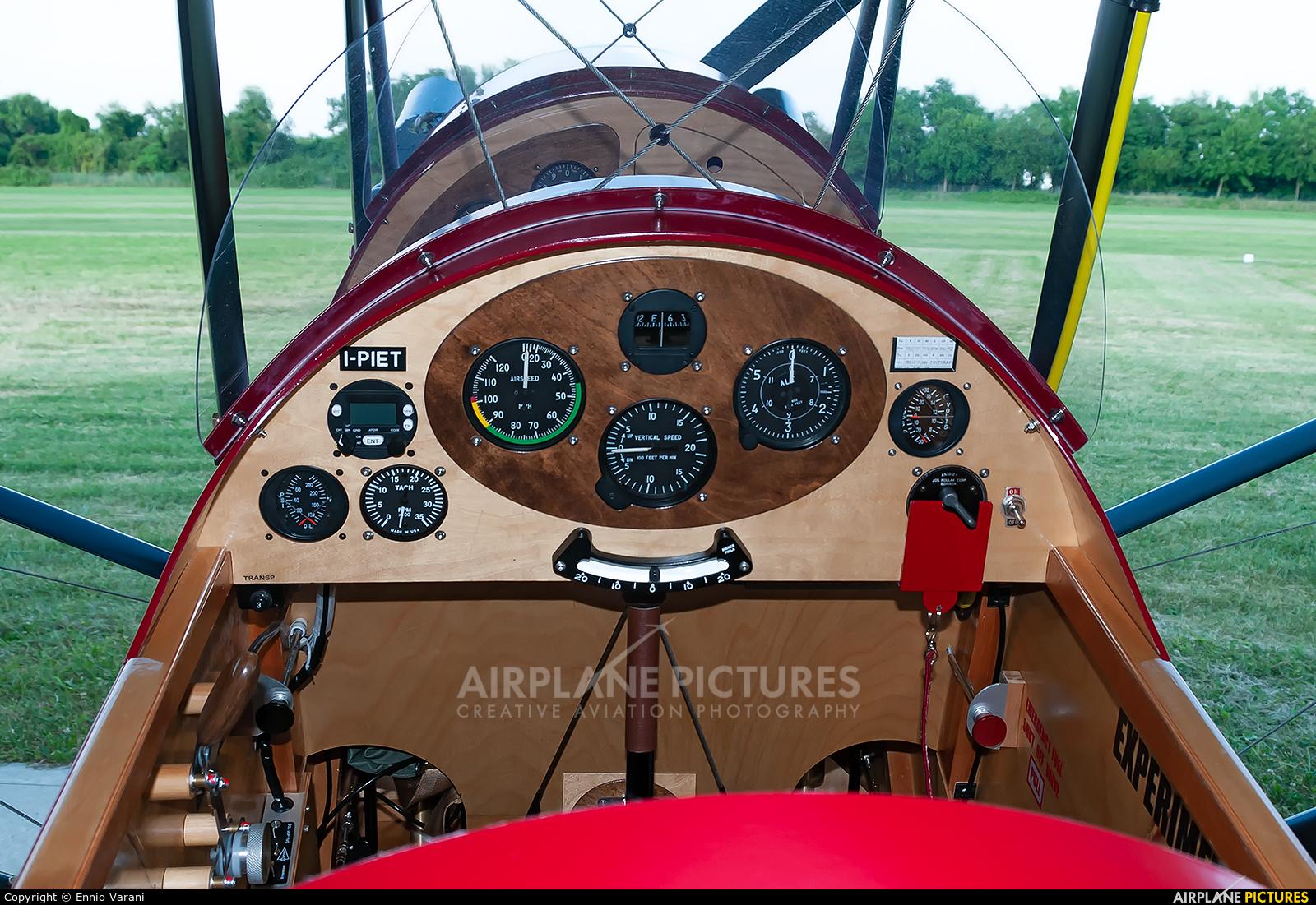 Private I-PIET aircraft at Thiene - Arturo Ferrarin