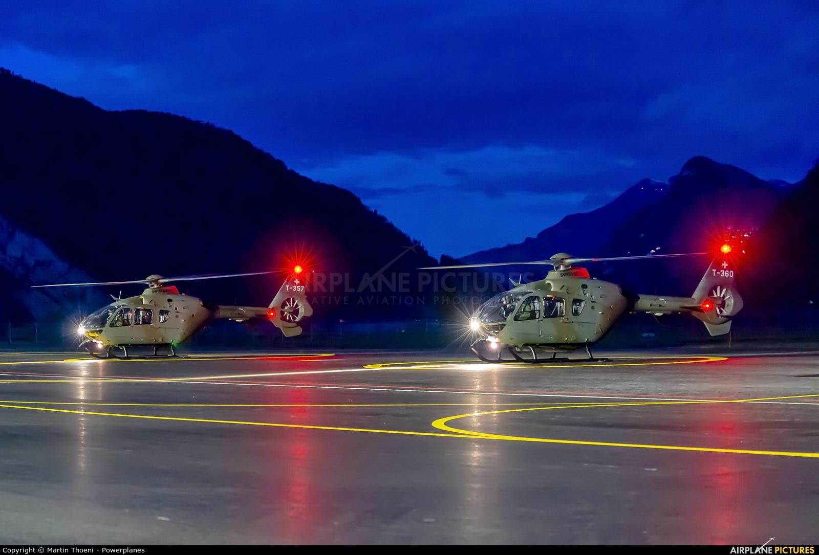 - Airport Overview T-360 aircraft at Alpnach