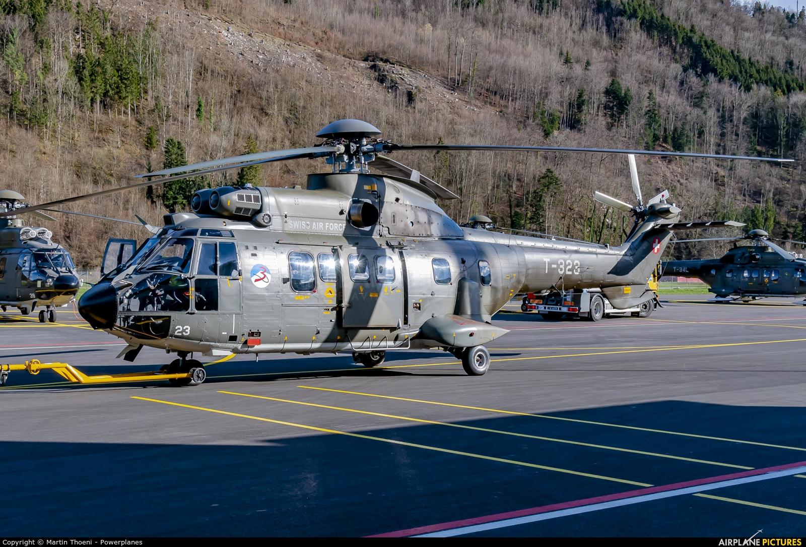 Switzerland - Air Force T-323 aircraft at Alpnach