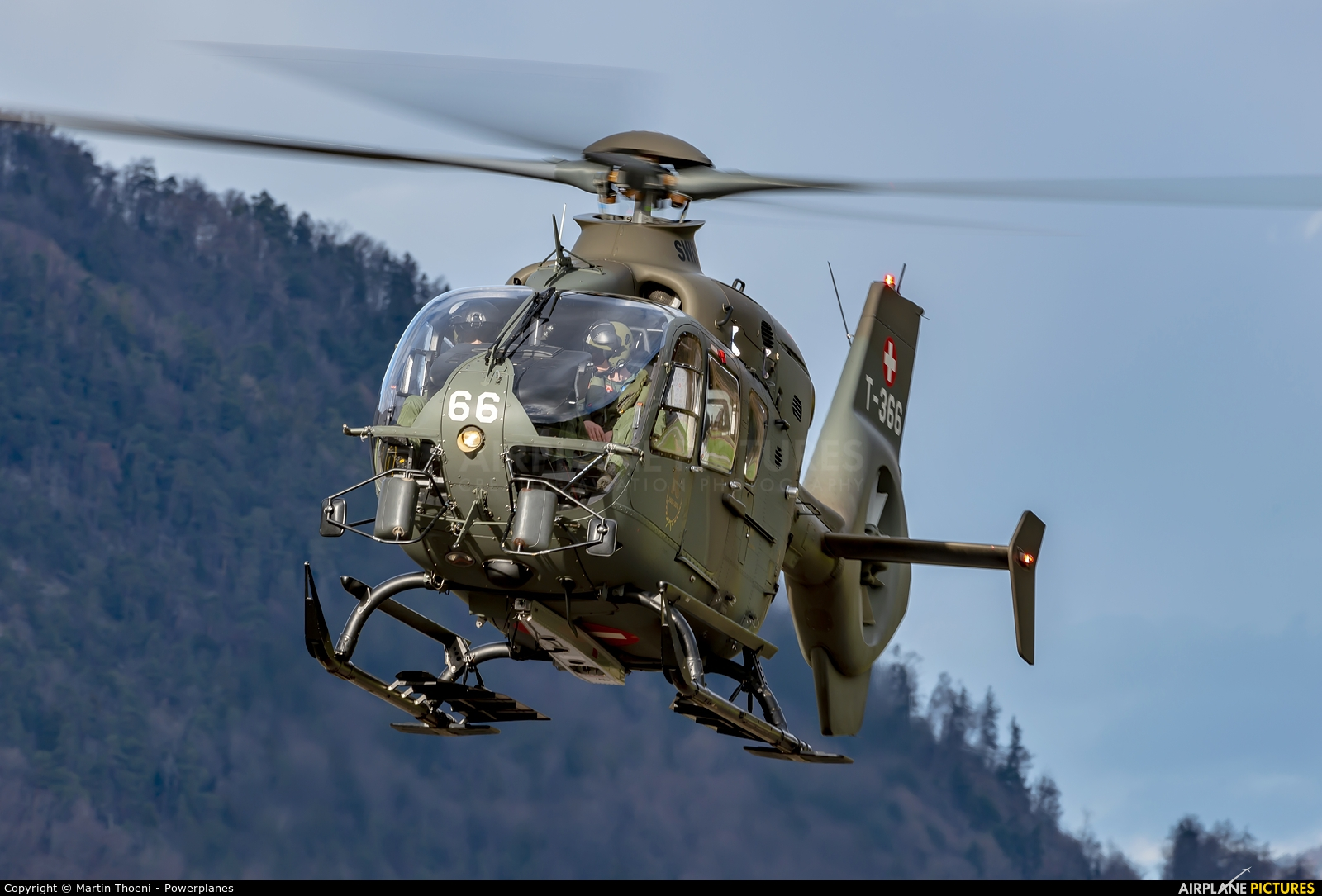Switzerland - Air Force T-366 aircraft at Alpnach