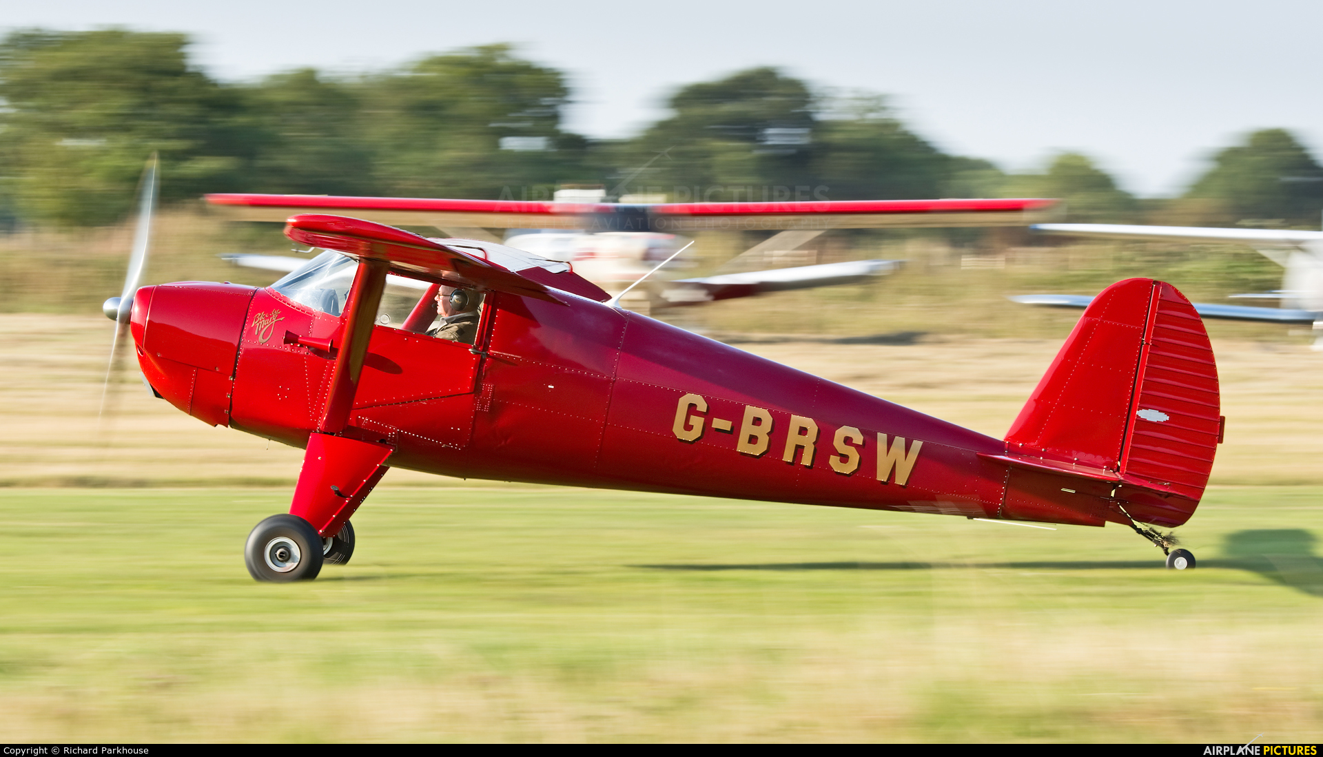 Private G-BRSW aircraft at Little Gransden
