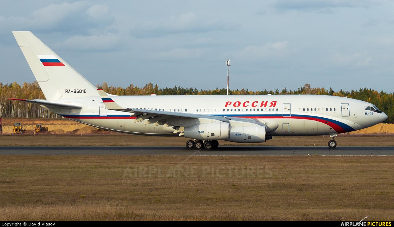 Rossiya RA-96018 aircraft at Krasnoyarsk - Yemelyanovo