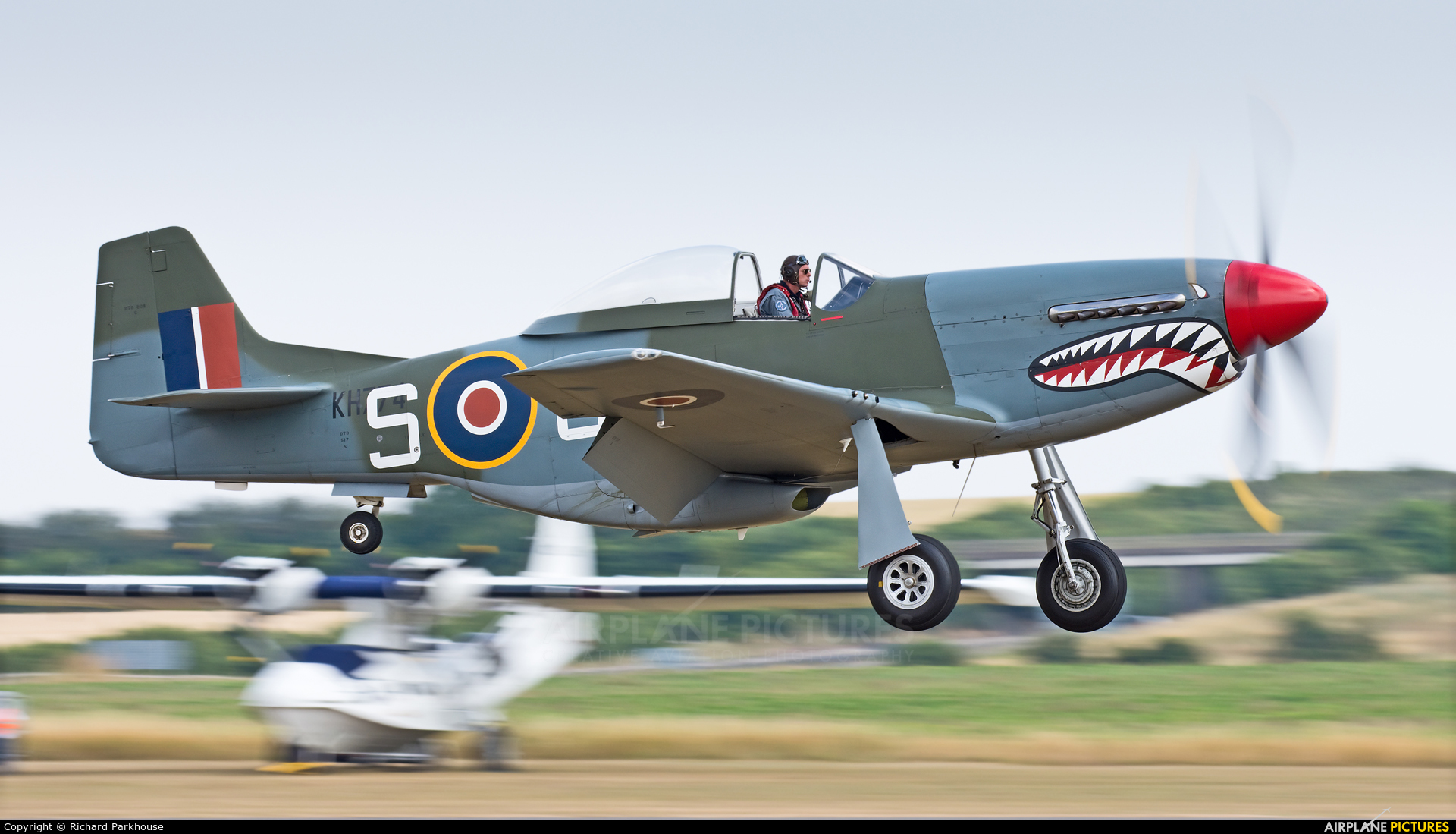 Private G-SHWN aircraft at Duxford