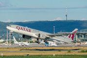 A7-BAK - Qatar Airways Boeing 777-300ER aircraft