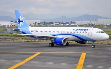 XA-JMA - Interjet Airbus A320