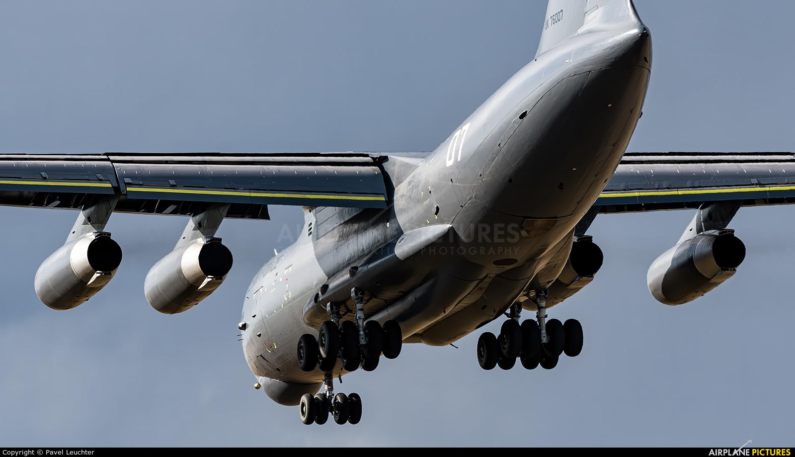 Uzbekistan Air Force UK-76007 aircraft at Pardubice