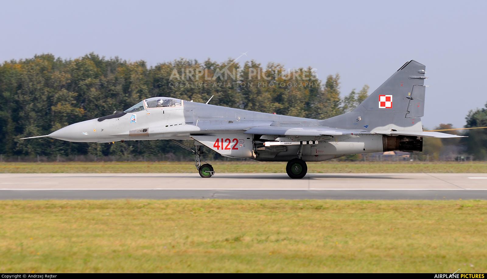 Poland - Air Force 4122 aircraft at Poznań - Krzesiny