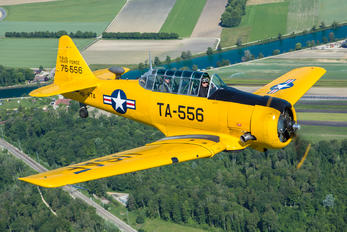 HB-RTA - Private North American Harvard/Texan (AT-6, 16, SNJ series)