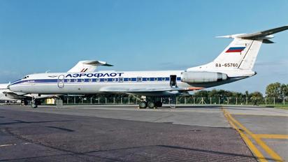RA-65760 - Aeroflot Tupolev Tu-134A
