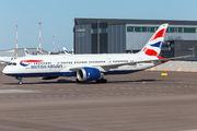British Airways B787 visited Helsinki title=