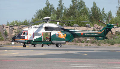 OH-HVQ - Finland - Border Guard Eurocopter AS332 Super Puma