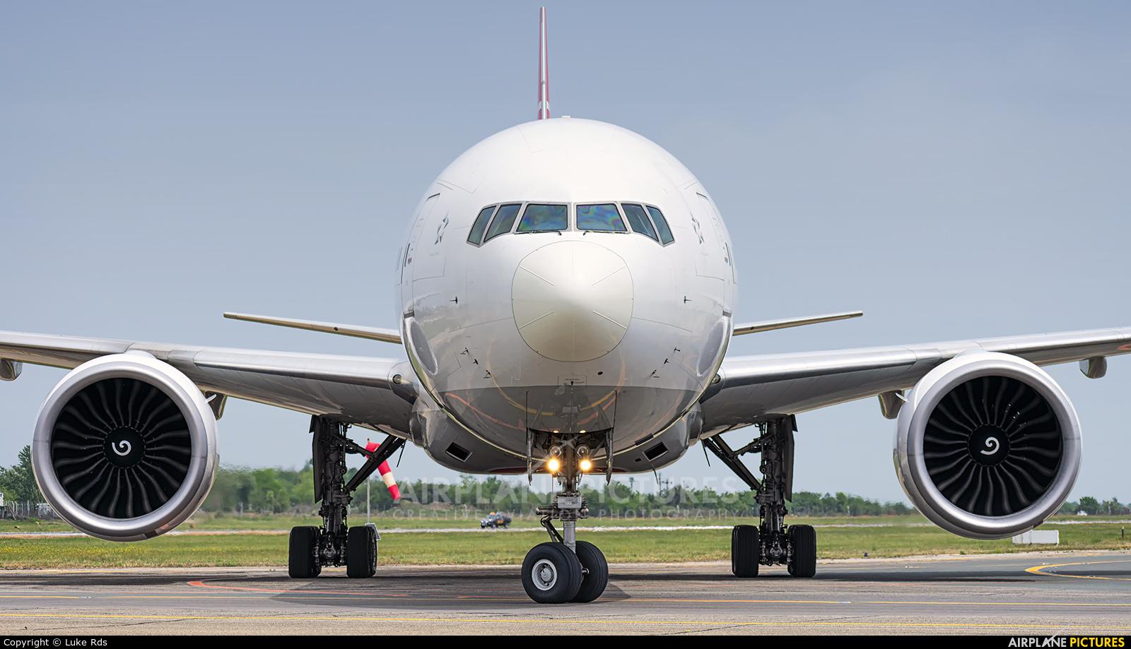 Turkish Airlines TC-LJH aircraft at Bucharest - Henri Coandă