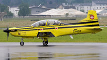 C-407 - Switzerland - Air Force Pilatus PC-9 aircraft