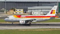 EC-KUB - Iberia Airbus A319 aircraft