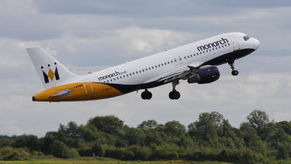 G-MPCD - Monarch Airlines Airbus A320