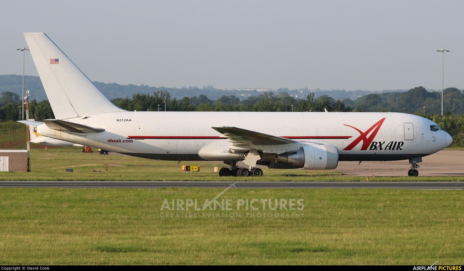ABX Air N312AA aircraft at East Midlands