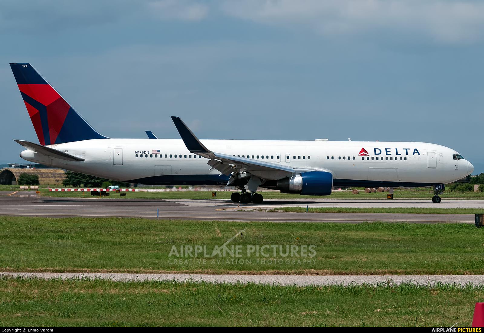 Delta Air Lines N179DN aircraft at Verona - Villafranca