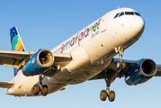 LY-SPD - Small Planet Airlines Airbus A320 aircraft