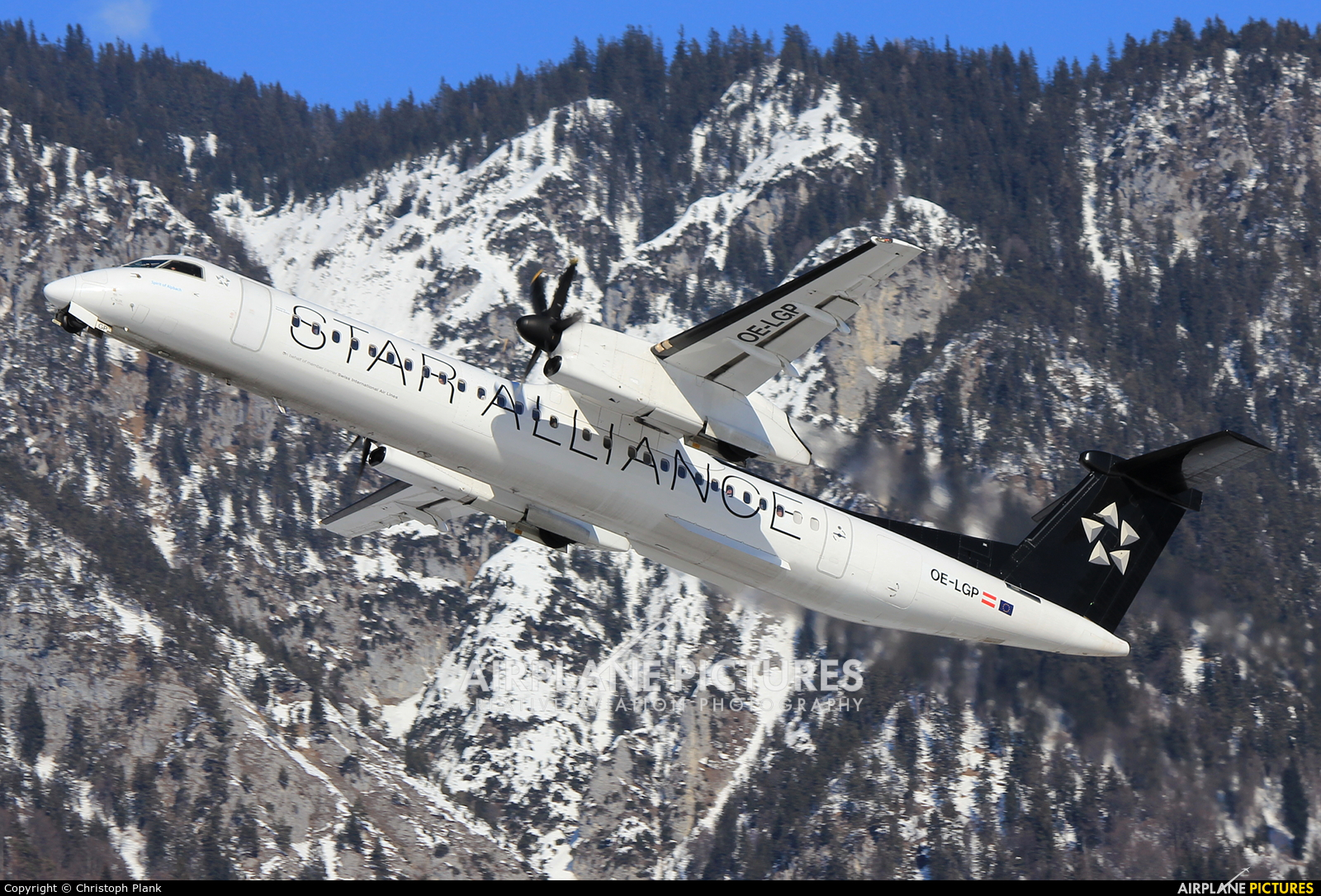 Austrian Airlines/Arrows/Tyrolean OE-LGP aircraft at Innsbruck