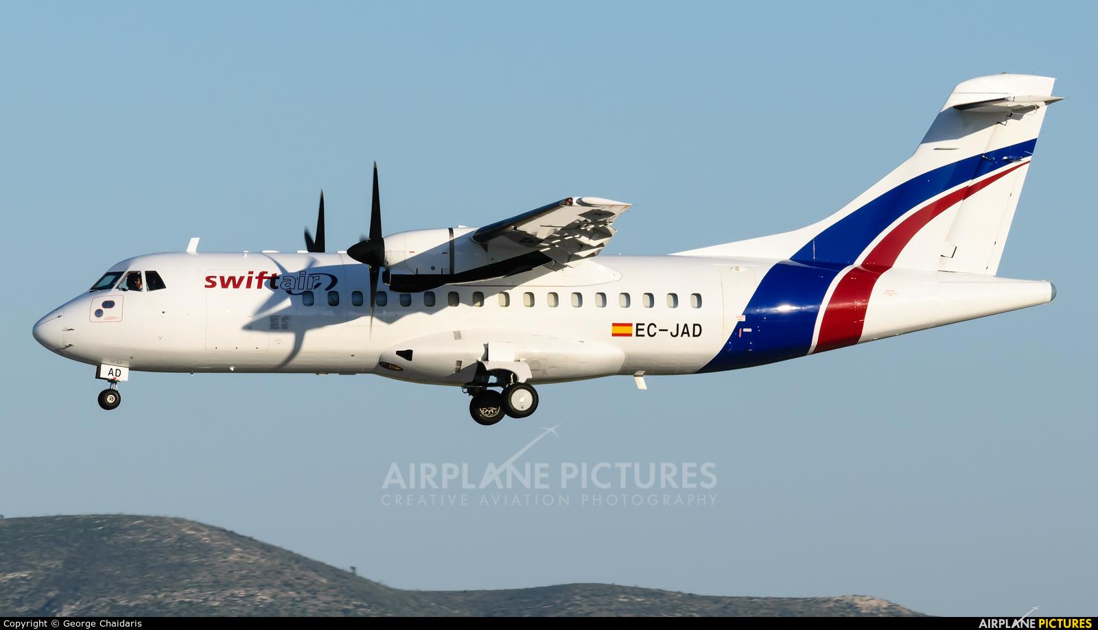 Swiftair EC-JAD aircraft at Athens - Eleftherios Venizelos