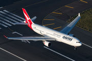 VH-QPG - QANTAS Airbus A330-300 aircraft